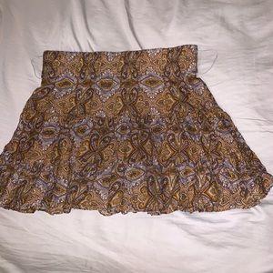 3/$20🔥Ali & Kris flowy paisley ruffle skirt